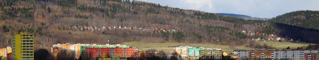 Zahrádkářská kolonie Lesní, Klášterec nad Ohří